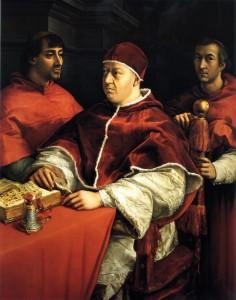 Leone X - Raffaello