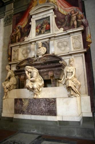Tomba Michelangelo - Foto_Giovanni_Dall'Orto,_28-Oct-2007