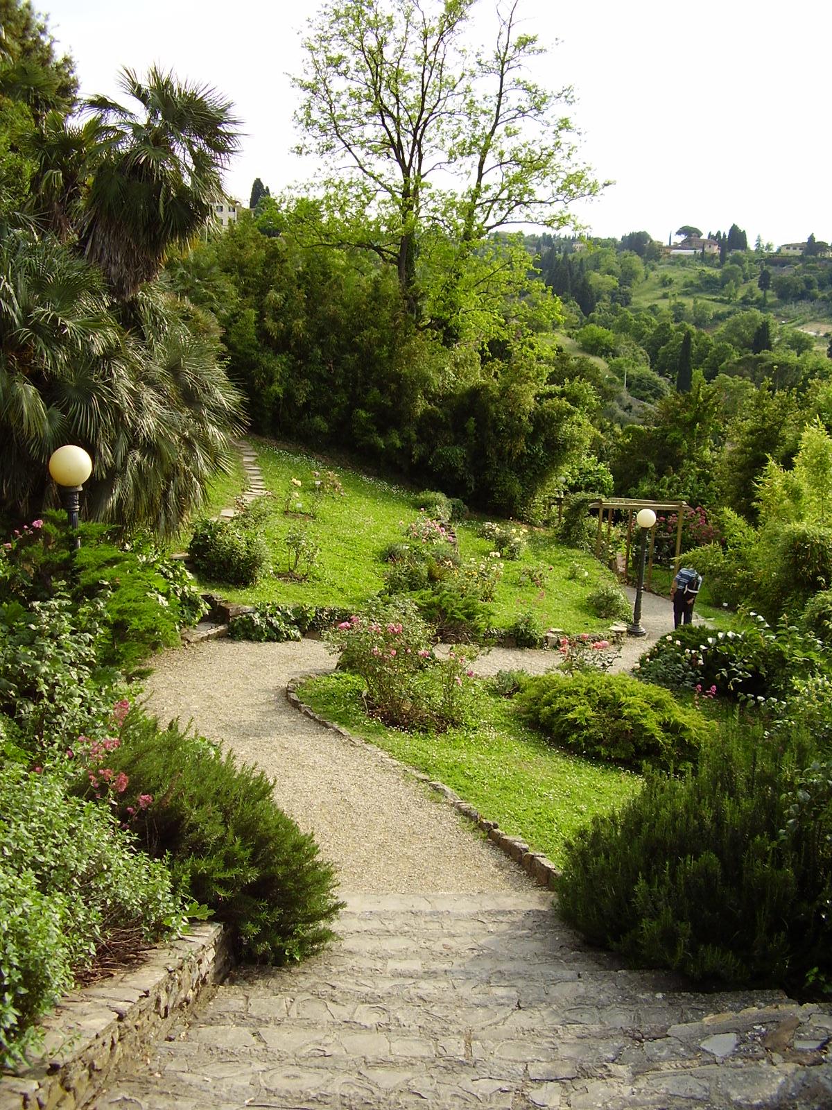 Jardín de las Rosas - Florence with Guide