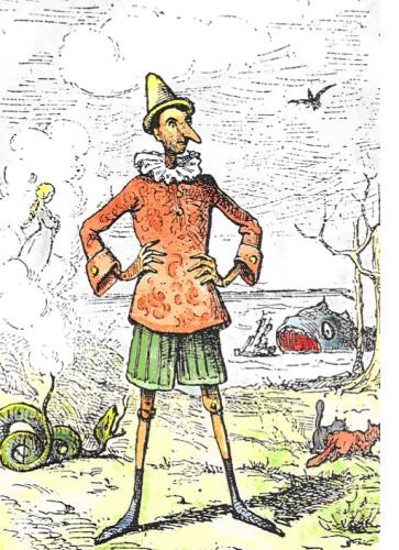Pinocchio-illustrazione-Mazzanti-1883