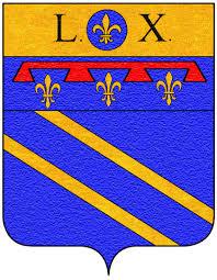 Das Wappen der Familie Buonarroti mit dem 'Capo' Leos X.