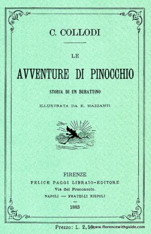 copertina Pinocchio 1883