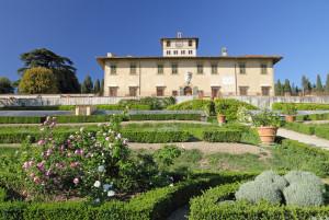 villa medicea di petraia, Firenze