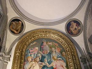 Pontormo, Cappella Capponi, Santa Felicita, Firenze