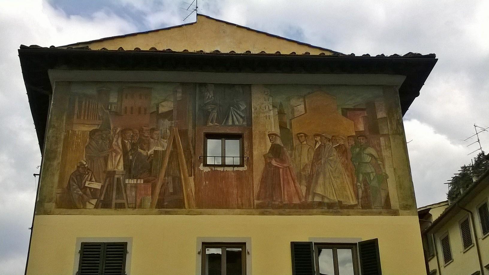 Mario Romoli_la vita a Firenze