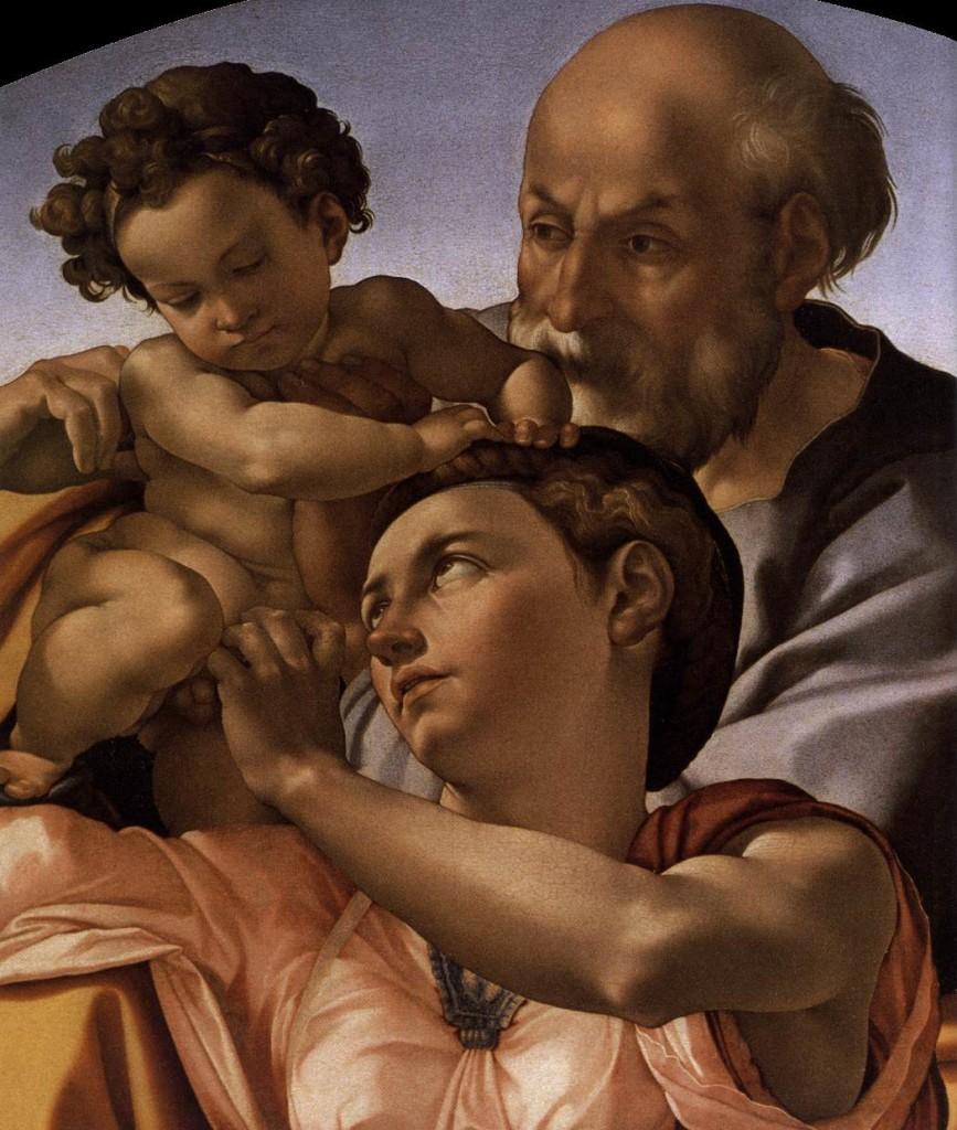 Микеланджело Св. Семейство