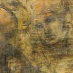 Леонардо Поклонение деталь лица