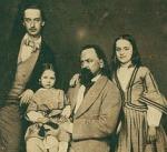 А.И.Герцен с детьми