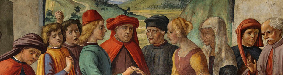 Фрески Сан Мартино Флоренция