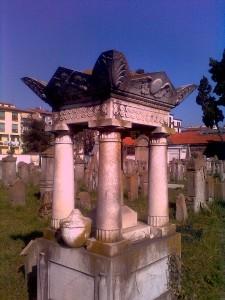 Der 'alte jüdische Friedhof' war Begräbnisstätte der Florentiner Juden von späten 18. bis ins späte 19. Jahrhundert.