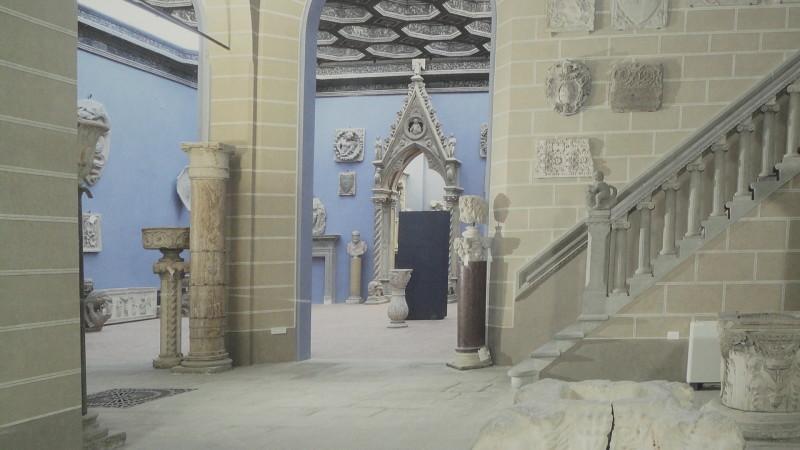 Museo Bardini, sala della scultura