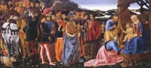 Cosimo Rosselli, Adoration of the Magi, Uffizi Gallery