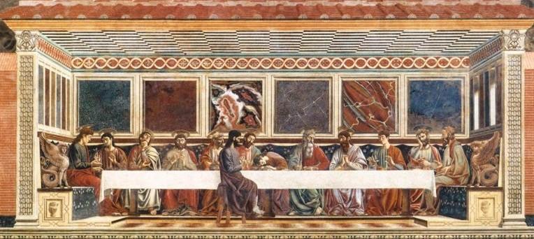 Andrea del Castagno, Ultima Cena, Firenze