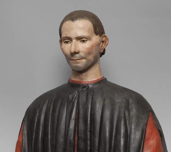 Busto di Niccolò Machiavelli Palazzo Signoria