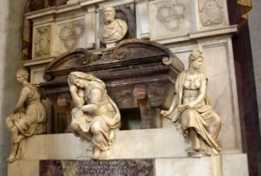 Das Grabmal Michelangelos, Santa Croce