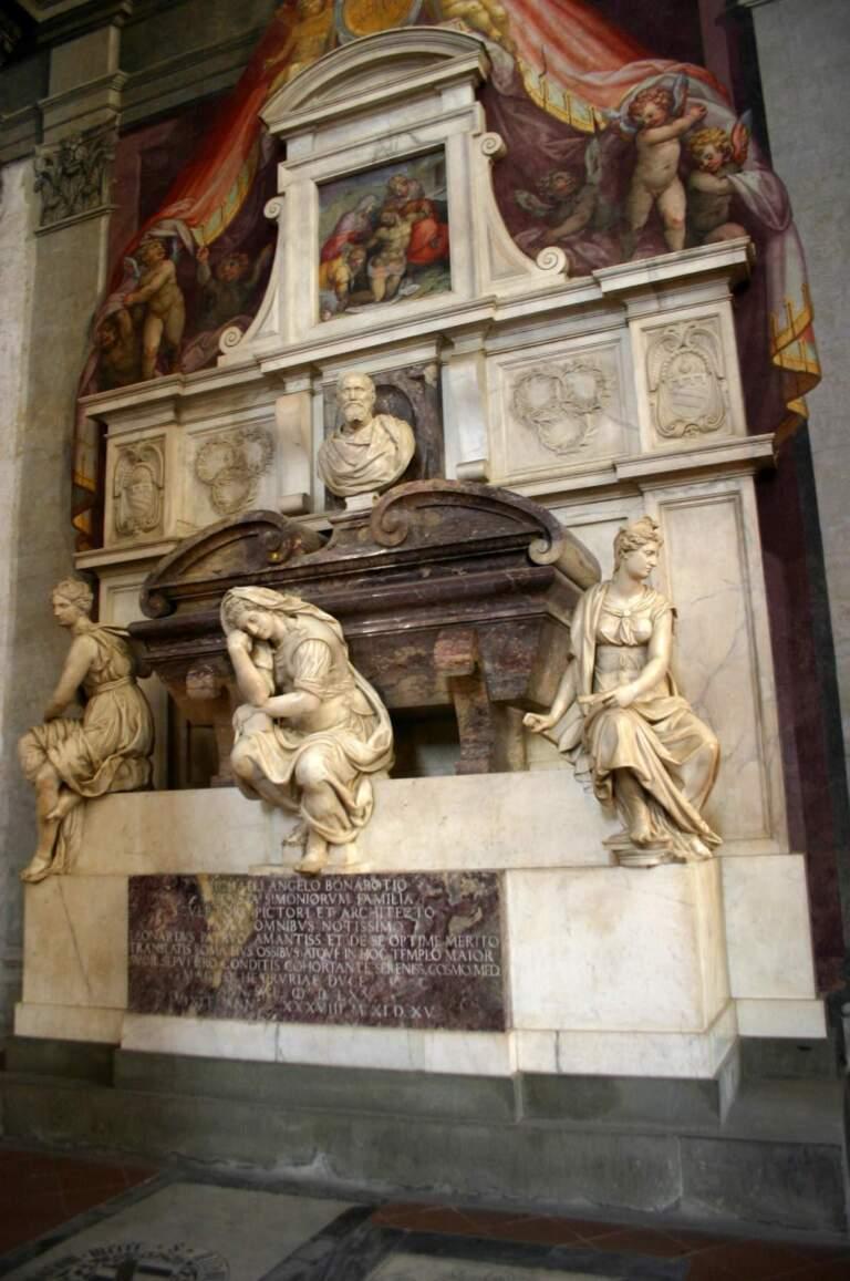 Die letzte Ruhe für Michelangelo