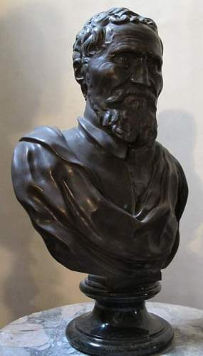 бюст Микеланджело