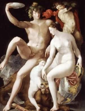 Россо Фьорентино-Венера и Вакх