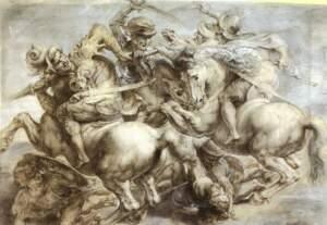 Rubens - la Battaglia di Anghiari da Leonardo