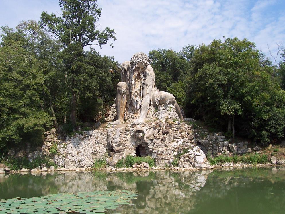 Appennino, Villa Demidoff Pratolino