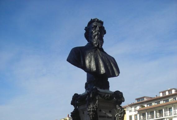 fontana di Cellini sul Ponte Vecchio