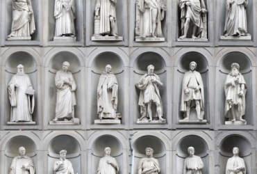 Gli uomini illustri agli Uffizi