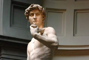 Давид- деталь- Микеланджело