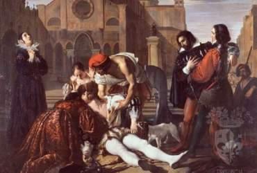 Bezzuoli_L'assassinio di Lorenzino dei Medici a Venezia