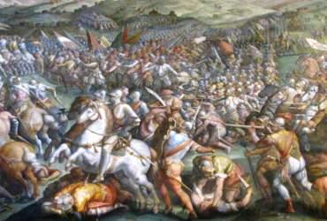 Salone dei cinquecento_battaglia scannagallo