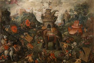 Hieronymus Bosch, Copia da Elefante, Firenze, Gallerie degli Uffizi, Galleria Palatina