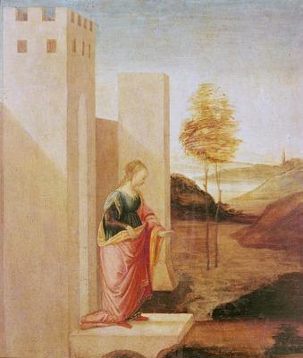Vashti geht - Botticelli-Werkstatt - Museo Horne, Florenz
