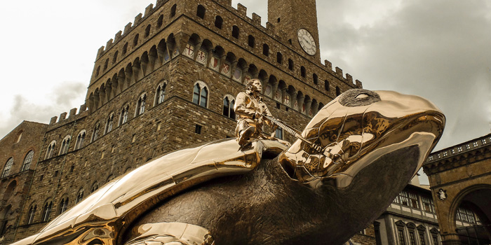 Jan Fabre, searching for Utopia, Firenze, 2016