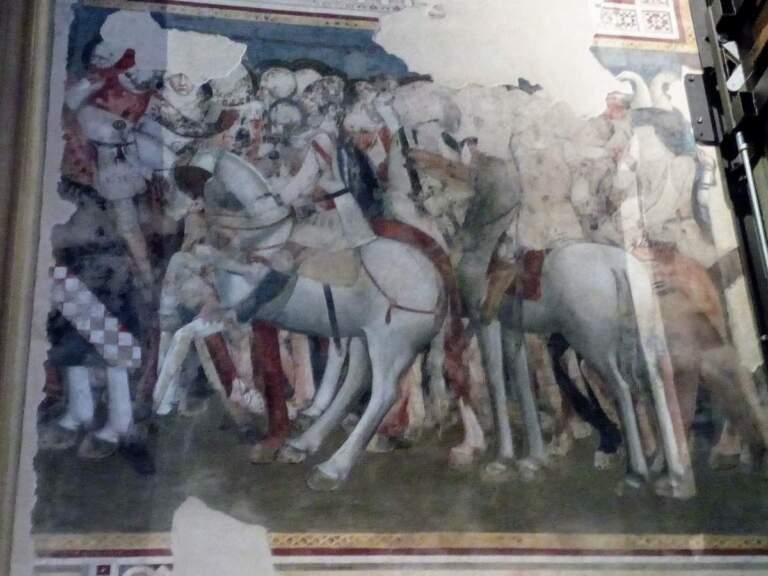Neuentdeckungen: Fresken in S. Maria Novella