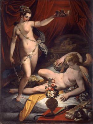 Jacopo Zucchi Amore e Psiche