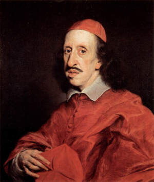 Portraet des Kardinals Leopoldo