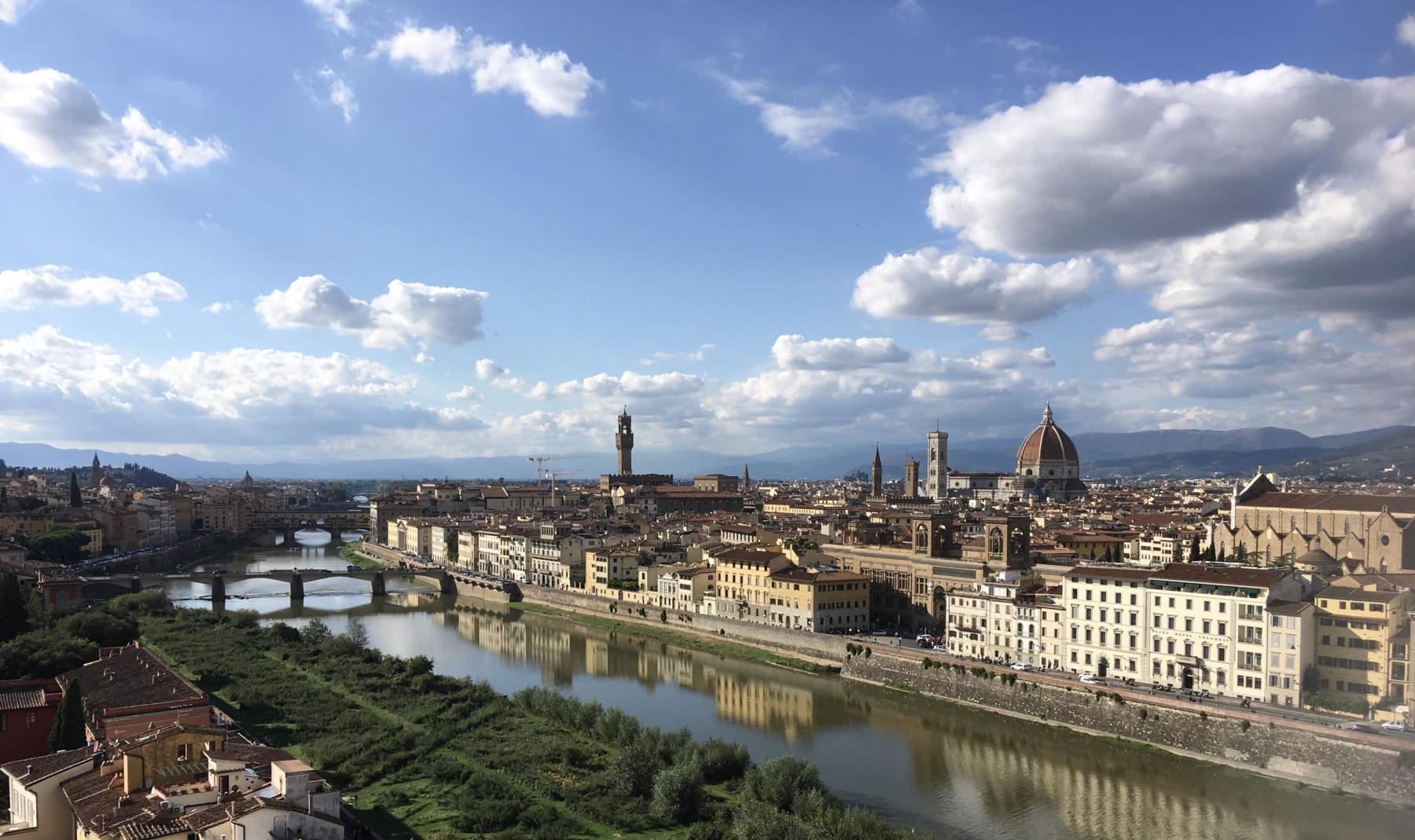 Firenze panorama dalla Porta di san Niccolò