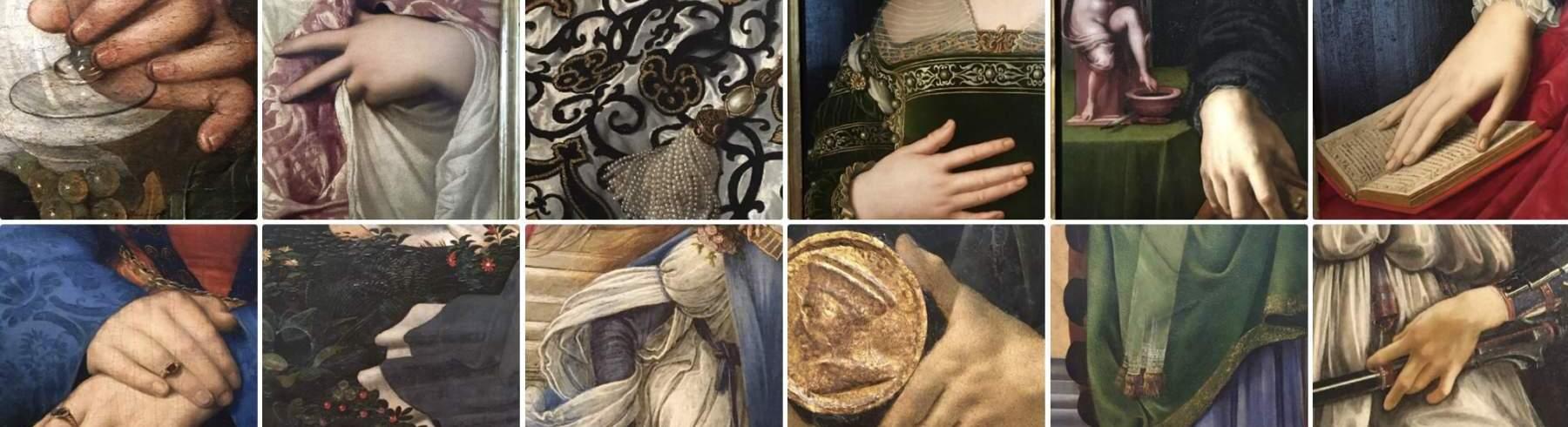 Galleria degli Uffizi dettagli capolavori