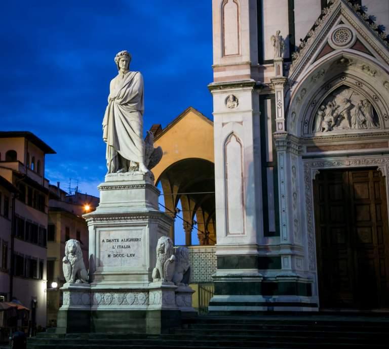 Florenz, die Stadt von Dante Alighieri