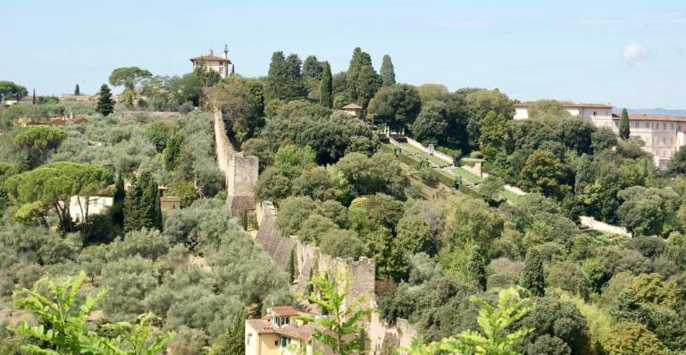 Trekking urbano: le mura di Firenze