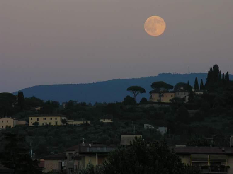Florenz beim Morgengrauen und im Abendrot