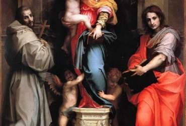 Andrea_del_Sarto_Madonna_of_the_Harpies, Uffizi