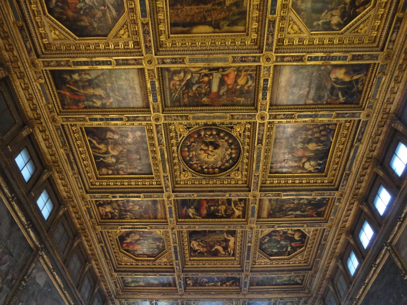 Sala Dei 500 Firenze.Il Salone Dei Cinquecento A Palazzo Vecchio