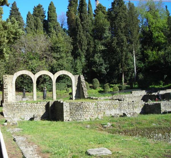 scavi di Fiesole, particolare delle terme (c) florencewithguide