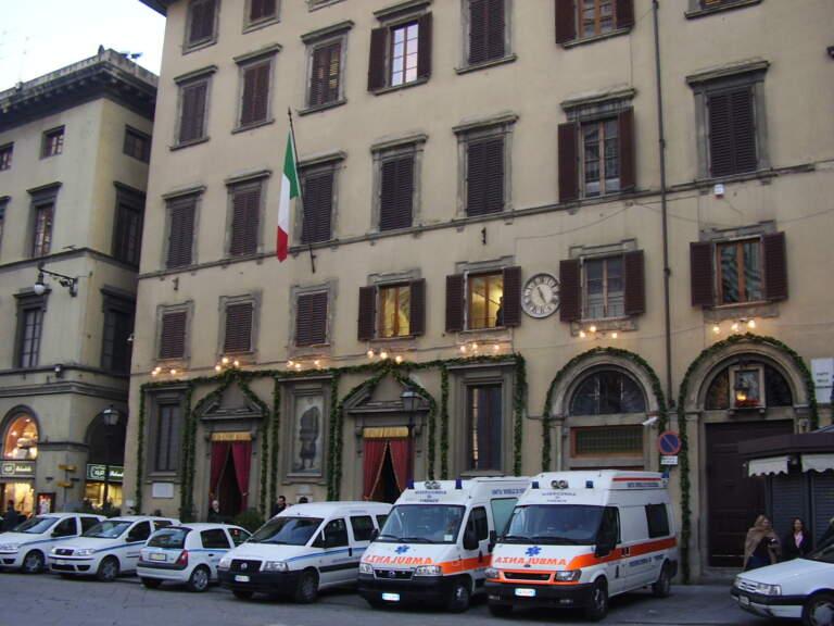 La Misericordia di Firenze e San Sebastiano