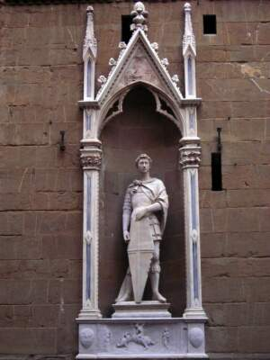 Orsanmichele_San_Giorgio_Donatello